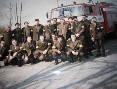 Il Gruppo dei pompieri. 1993